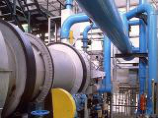 Foto impianto industriale per l'incenerimento dei rifiuti