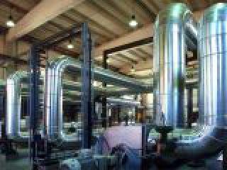 Impianto industriale per la sperimentazione di sistemi filtranti