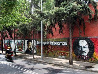 Città del Messico, Coyoacan, murales Trotsky